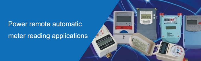 Power remote automatic meter reading applications