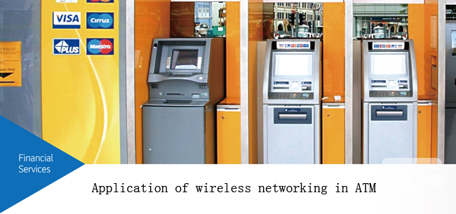Application of wireless networking in ATM
