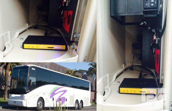 Wifi on bus