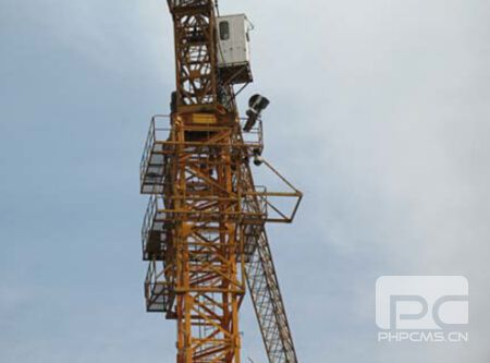 Four-Faith F7114 GPS DTU application of wireless monitoring system of tower crane in Xi'an