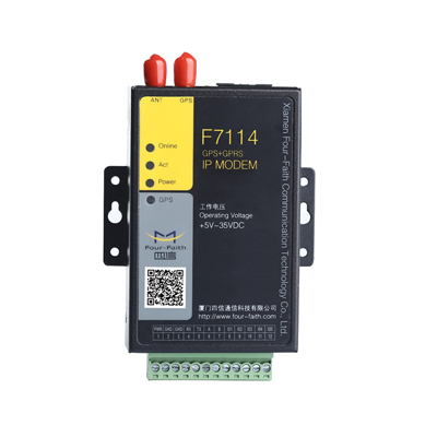 F7114 GPS+GPRS IP MODEM
