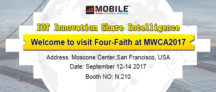 Four Faith invite you to join MWC Americas2017