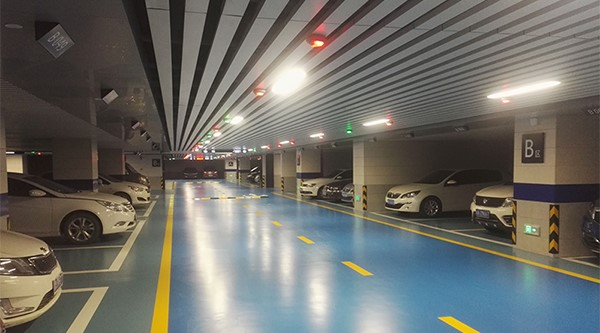 Four-Faith LoRa used in smart parking