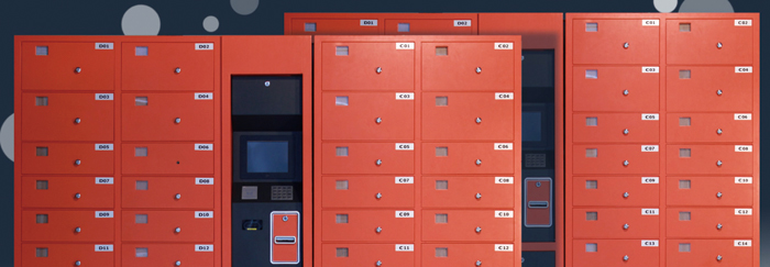 Self-service express locker