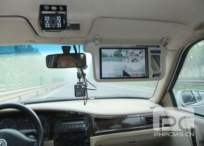 vehicle intelligent video surveillance