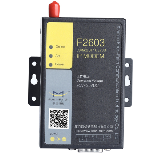 F2603 Industrial CDMA2000 1X EVDO IP MODEM