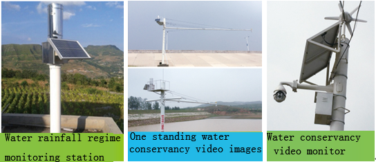 Water rainfall regime monitoring station