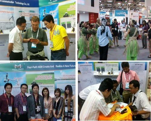 四信通信参加新加坡CommunicAsia 2012