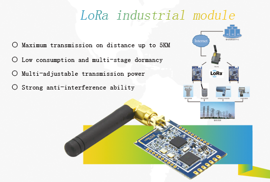 Technical monitoring scheme based on LoRa industrial module