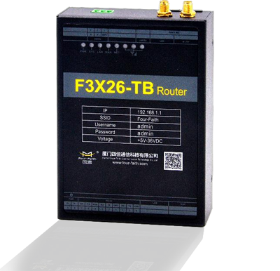F3X26-TB Industrial 4G LTE Router