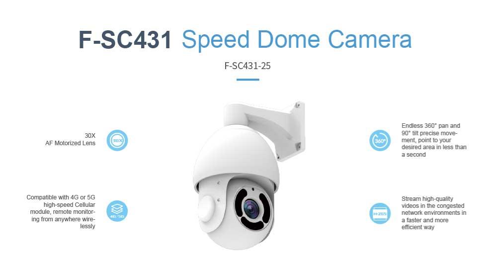 Speed Dome Camera F-SC431