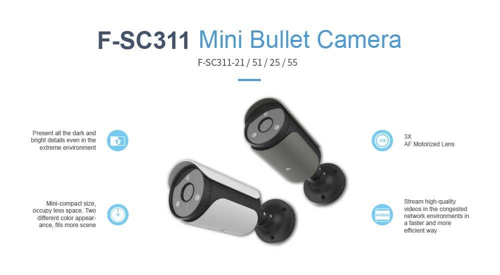 Mini Bullet Camera F-SC311